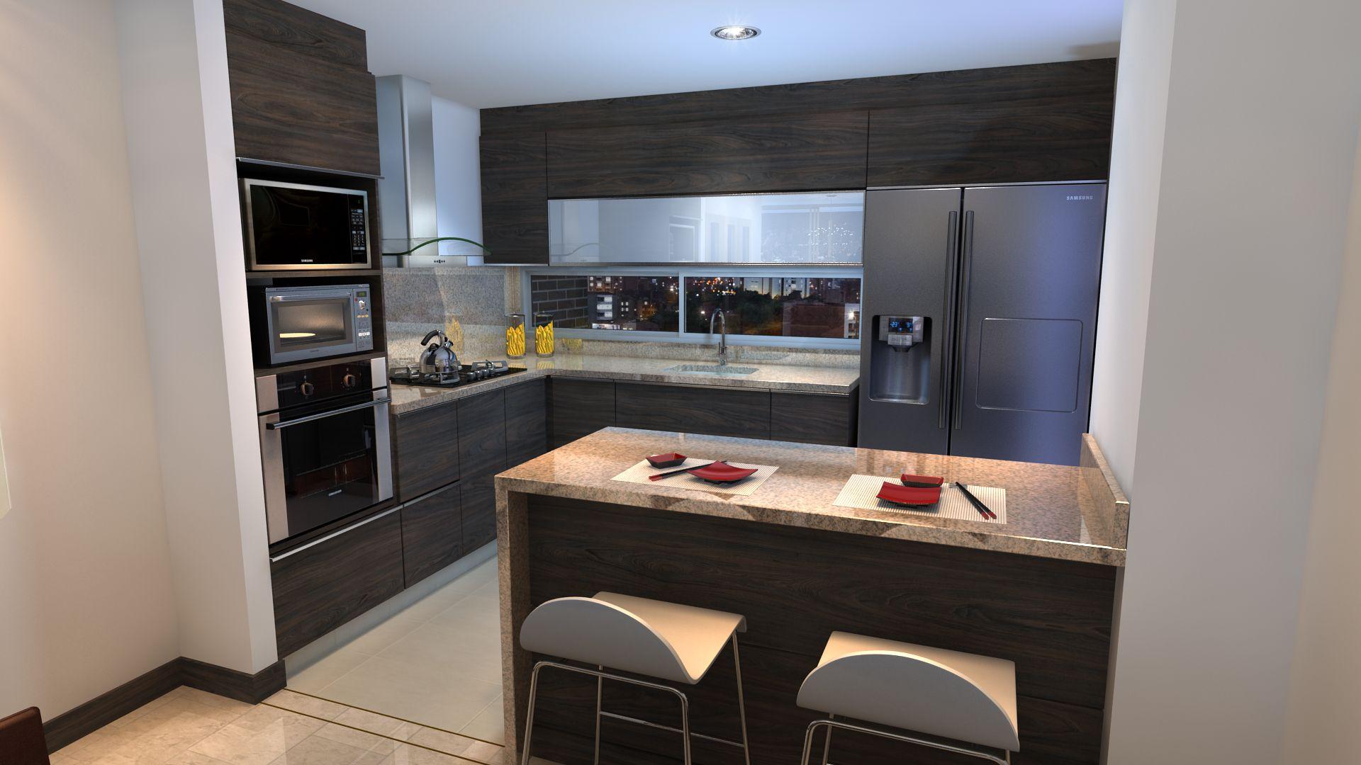 Saint etienne apartamentos en laureles for Hornos para cocina
