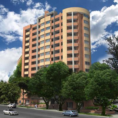 Fachada apartamento en Medellín