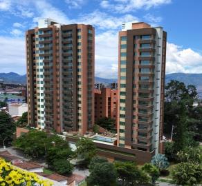 Fachada apartamentos Envigado